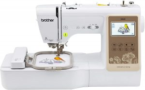 "Brother RSE625 Computerized Sewing and 4""x4"" Embroidery Machine, White"