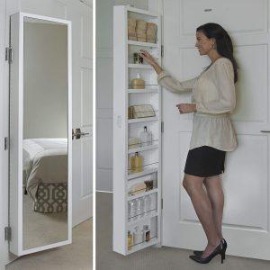 Cabidor Deluxe/ Mirrored /Behind The Door cabinet