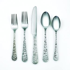 old silver forks and spoons