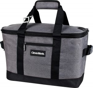 CleverMade Collapsible Cooler Bag - soft coolers that don't leak