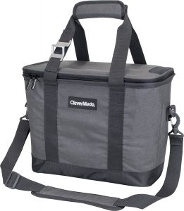 CleverMade Collapsible Cooler Bag with Shoulder Strap