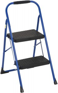Cosco 11308SWB1E Two, Blue Three Big Folding Step Stool