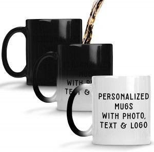 mug with photo hot water
