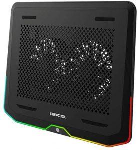 DEEP-COOL-N80-RGB-Laptop-Cooling-Pad-16.7-Million-RGB-Colors-LED-Pure-Metal-