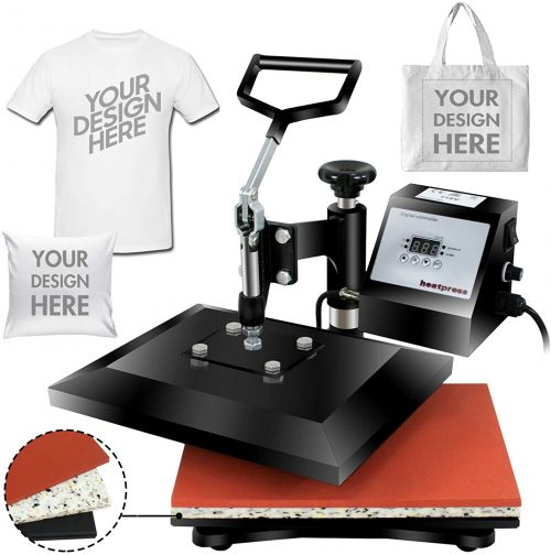 Super Deal Digital Swing Away Heat Press Heat Transfer Sublimation Machine
