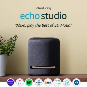 High-fidelity smart speaker with 3D audio and Alexa