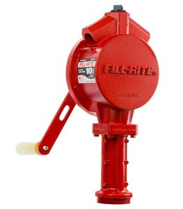 manual fuel transfer pump