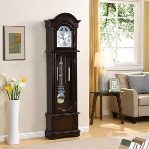Espresso-Grandfather-Clock