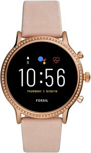 Fossil Gen 5 Julianna Stainless Steel Touchscreen Smartwatch