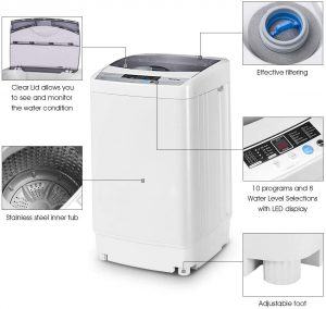 Giantex-Full-Automatic-Washing-Machine-Portable-Compact-1.34-Cu.ft-Laundry-