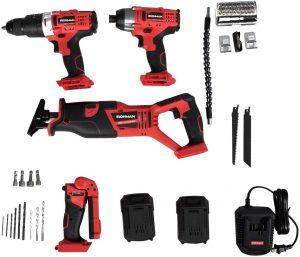 Goplus 4-Tool Combo Kit