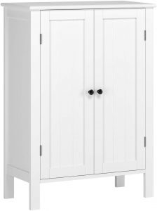 VASAGLE Bathroom Storage Cabinet Freestanding Office Cabinet With Drawers,
