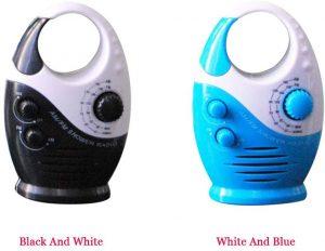 Hanging Mini Battery Powered AM FM Portable Waterproof Speaker
