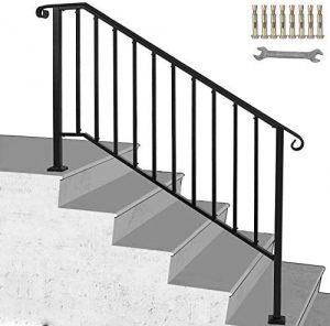 Matte Black Stair
