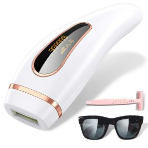 IPL Permanent Painless Hair Removal Device is an at home laser hair removal before and after