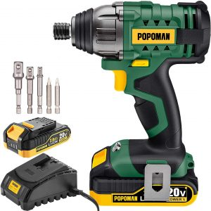 Impact Driver, 1600In-lbs 20V MAX Impact Drill