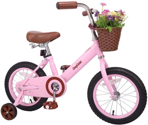 JOYSTAR-14-16-Inch-Kids-Bike-with-Basket-Training-Wheels-fo