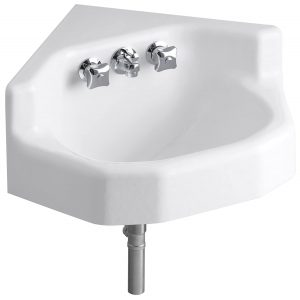 corner wash basin small size