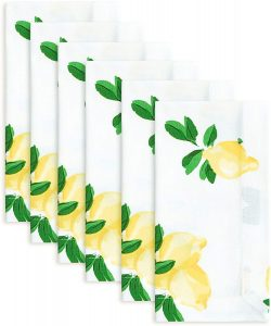 Kate Spade New York Make Lemonade Cotton Napkin, Set of 6, Multi