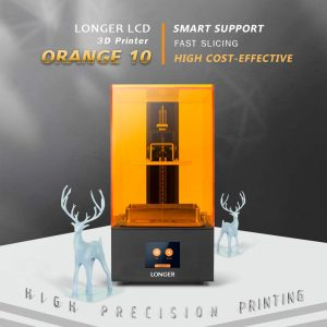 LONGER Orange 10 3D Printer, Resin 3D Printer with 2.8inch Touch Color Screen,