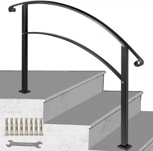 wooden railing designs for stairs