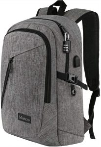 "Anti Theft College Schoolbag for book and 15.6"" Laptops"