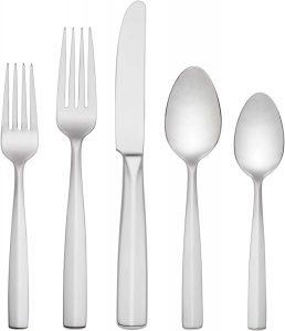 best silver flatware set on amazon