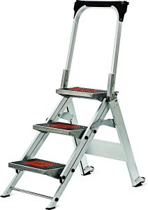 3-step ladder heavy duty