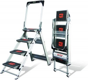 Little-Giant-Ladder-Systems-10410BA-Safety-Step-Ladder-Four-Step-