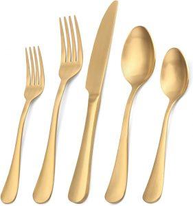 Kitchen Utensil Set Service for 4,Tableware Cutlery Set for Home and Restaurant, Dishwasher Safe