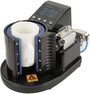 Mug Heat Press Machine, Pneumatic Auto Cup Heat Press Printer Transfer Sublimation Machine