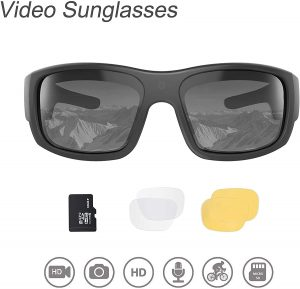 OhO Video Sunglasses,32GB 1080 HD Video Recording Camera for 1.5 Hours Video Recording Time