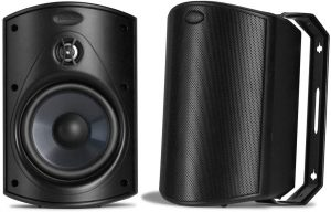 All-Weather Durability Outdoor Speaker | Broad Sound Coverage & Speed-Lock Mounting System