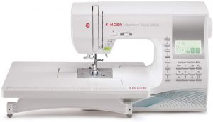 Quantum Stylist 9960 Computerized Portable Sewing Machine with 600-Stitches Electronic Auto Pilot Mode