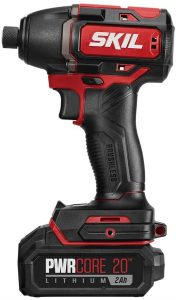 SKIL PWRCore 20 Brushless 20V 1/4 Inch Hex Impact Driver