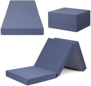 folding mattress single
