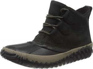 SOREL - Women's Out 'N About Plus, Waterproof Leather and Suede Duck Boot