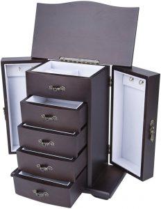 unique wooden jewelry boxes