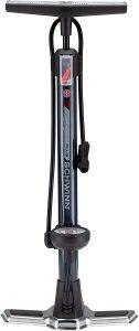 Floor Pump for Bicycles with Gauge Fits Schrader