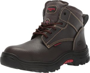 Skechers Mens Tarlac Steel Toe Work Boot - Black