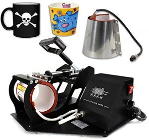 Smartxchoices 2 in 1 Auto Digital Coffee Mug Cup Heat Press Transfer Sublimation Heat Press Machine Heat Press Kit