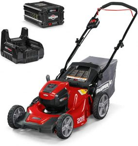 Snapper HD 48V MAX Cordless Electric 20-Inch Lawn Mower Kit