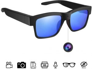 Sunglasses Camera Full HD 1080P, 65 Degree Angle for Outdoor Use