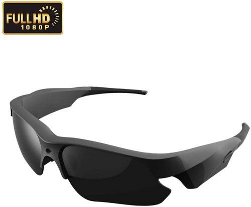 Sunglasses Camera, KAMRE Full HD 1080P Mini Video Camera with UV Protection Polarized Lens