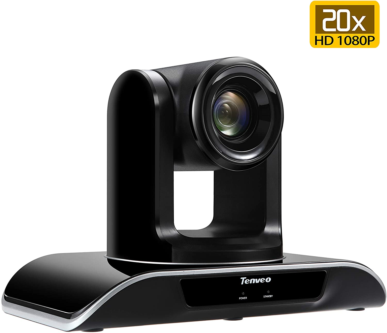 Tenveo 20X Optical Zoom Video Conference Camera Full HD 1080p USB PTZ Camera for Business Meetings