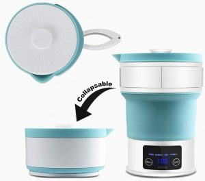 Travel Foldable Electric Kettle - LED Display