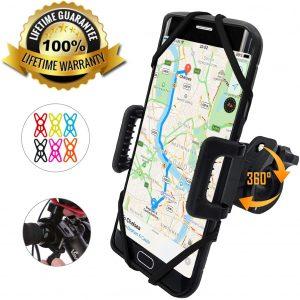phone holder for exercise bike