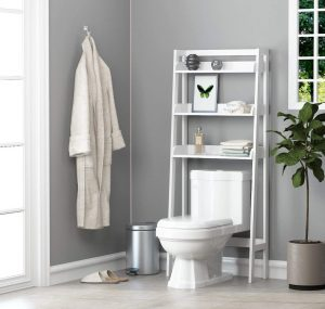 UTEX 3-Shelf Bathroom Organizer Over The Toilet,