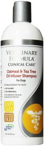 100% Safe Medicated Shampoo to Treat Fungal, Bacterial and Viral Skin Infections in Dogs, 16oz