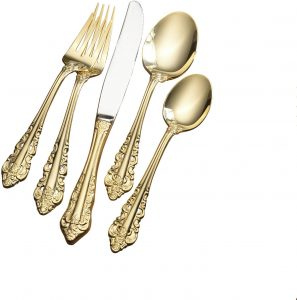 Wallace gold antique silverware markings